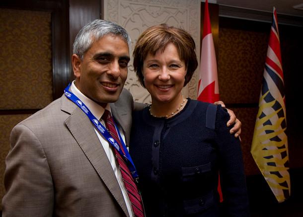 President Gupta and Premier Clark